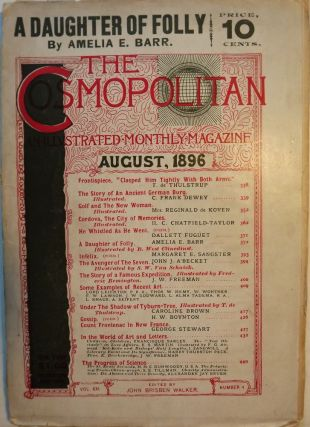 GOLF AND THE NEW WOMAN: In COSMOPOLITAN MAGAZINE, AUGUST 1896