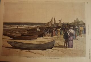 SEA BRIGHT: PREACHING ON THE SANDS. HARPER'S WEEKLY