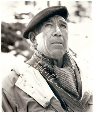 Signed Photograph. Anthony QUINN