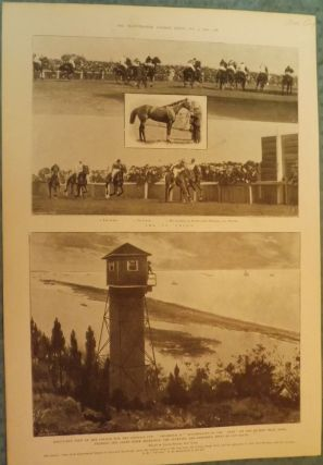 SANDY HOOK: AMERICA CUP. ILLUSTRATED LONDON NEWS