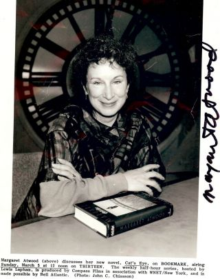 Signed Photograph. Margaret ATWOOD