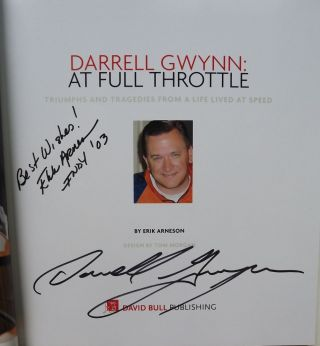 DARRELL GWYNN AT FULL THROTTLE