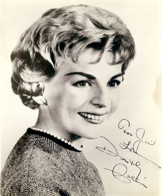 Signed Photograph. Dorothy COLLINS