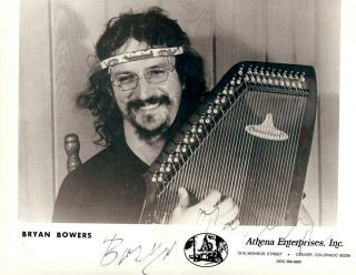 Signed Photograph. Bryan BOWERS