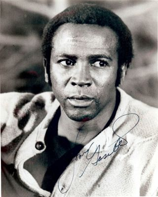 Signed Photograph. Lou GOSSETT