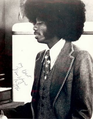 Signed Photograph. Franklyn AJAYE
