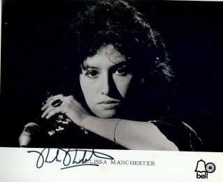 Signed Photograph. Melissa MANCHESTER