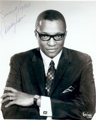 Signed Photograph. Ramsey LEWIS