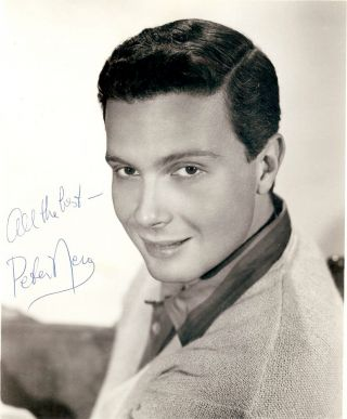 Signed Photograph. Peter NERO