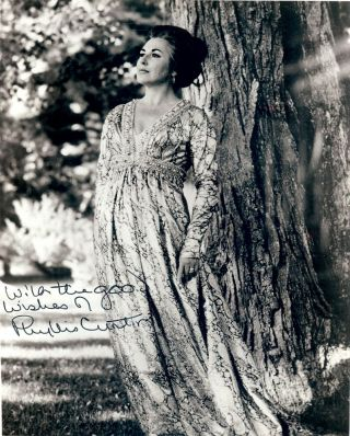 Signed Photograph. Phyllis CURTIN