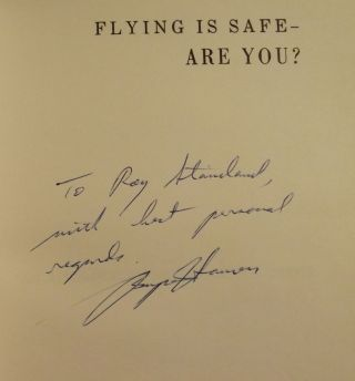 FLYING IS SAFE- ARE YOU? AN AEROMEDICAL HANDBOOK FOR PILOTS