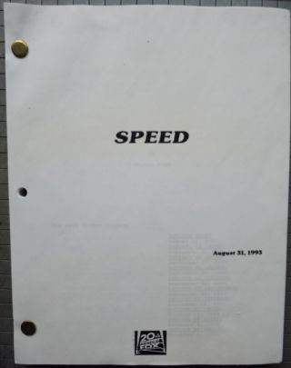 SPEED. Graham YOST