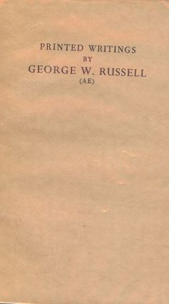 PRINTED WRITINGS BY GEORGE W. RUSSELL. Alan DENSON