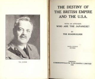 THE DESTINY OF THE BRITISH EMPIRE AND THE U.S.A. W. G. MacKENDRICK.