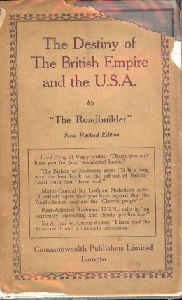 THE DESTINY OF THE BRITISH EMPIRE AND THE U.S.A.