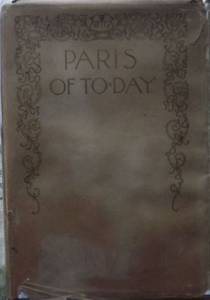 PARIS OF TO-DAY...IN THE SCARCE DUST JACKET