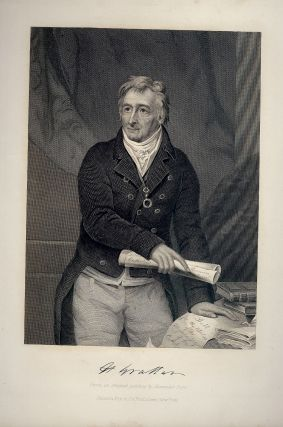 Steel-Engraved Portrait. Henry GRATTAN