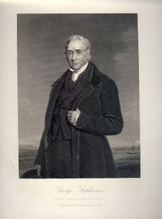 Steel-Engraved Portrait. George STEPHENSON
