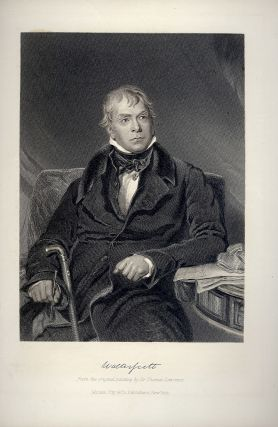 Steel-Engraved Portrait. Sir Walter SCOTT