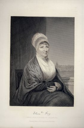Steel-Engraved Portrait. Elizabeth FRY
