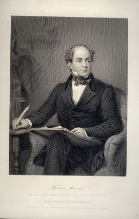 Steel-Engraved Portrait. Thomas MOORE