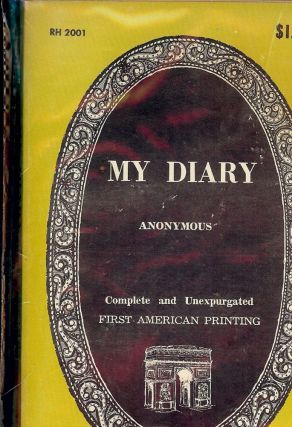 MY DIARY. ANONYMOUS