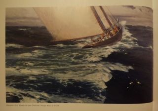 BOUND FOR BLUE WATER: CONTEMPORARY AMERICAN MARINE ART