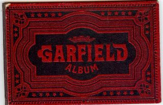 PRESIDENT JAMES A. GARFIELD ALBUM. ANONYMOUS.