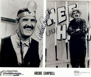 Signed Photograph. Archie CAMPBELL