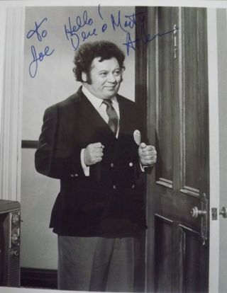 Signed Photograph. Marty ALLEN