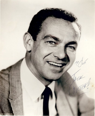Signed Photograph. Jack CARTER