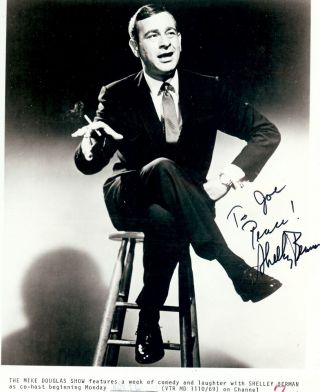 Signed Photograph. Shelley BERMAN