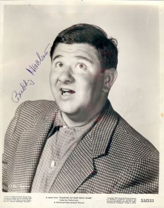 Signed Photograph. Buddy HACKETT