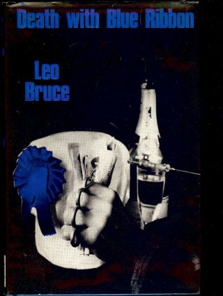 DEATH WITH BLUE RIBBON. Leo BRUCE