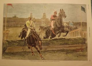 MONMOUTH PARK, OCEANPORT. HARPER'S WEEKLY