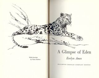 A GLIMPSE OF EDEN. Evelyn AMES