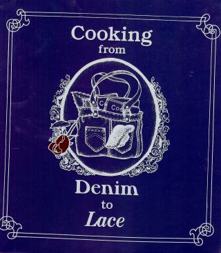 COOKING FROM DENIM TO LACE. Aice LAUE.