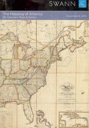 MAPS,ATLASES, NATURAL HISTORY, MAPPING OF AMERICA SALE 2401 TWO PARTS