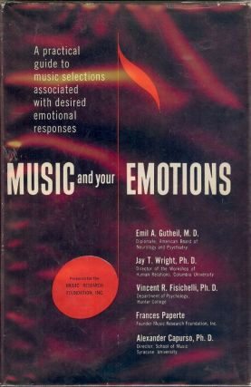 MUSIC AND YOUR EMOTIONS. Alexander CAPURSO