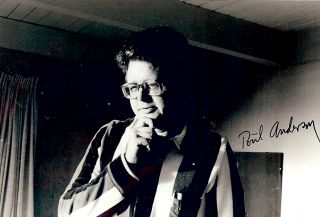 Signed Photograph. Poul ANDERSON