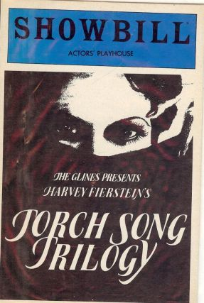 TORCH SONG TRILOGY PLAYBILL PROGRAM. Harvey FIERSTEIN