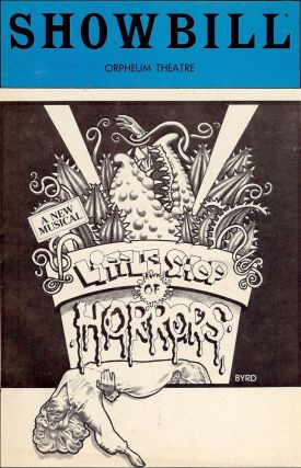 LITTLE SHOP OF HORRORS PLAYBILL PROGRAM. Roger CORMAN