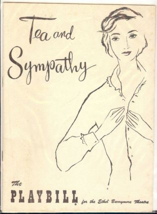 TEA AND SYMPATHY PLAYBILL PROGRAM. Deborah KERR