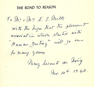 THE ROAD TO REASON