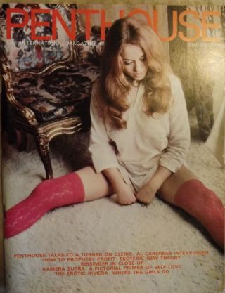 In PENTHOUSE MAGAZINE, August 1972. Al CARMINES