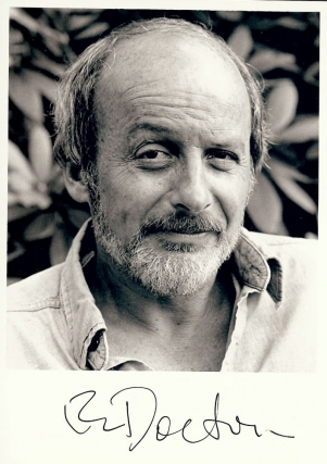 SIGNED PHOTOGRAPH. E. L. DOCTOROW