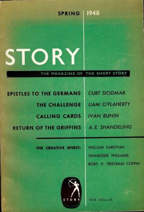 STORY MAGAZINE: SPRING 1948. Tennessee WILLIAMS