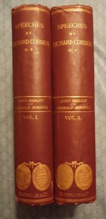 SPEECHES ON QUESTIONS OF PUBLIC POLICY TWO VOLUMES