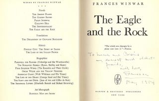 THE EAGLE AND THE ROCK. Frances WINWAR