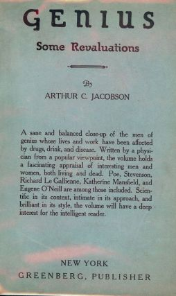 GENIUS: SOME REVELATIONS. Arthur C. JACOBSON